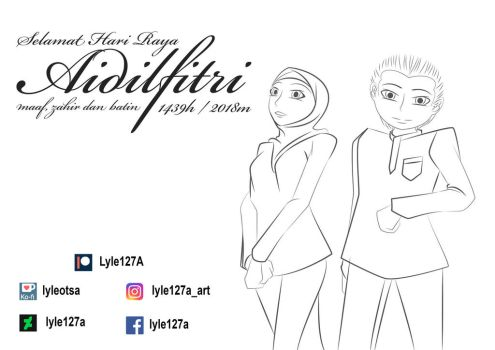 [EVENT] HAPPY Eid Mubarak 1439H by Lyle127A