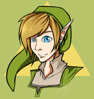 Skyward Sword: Link by MirageFlames