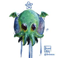 Little Cthulhu by brunoces