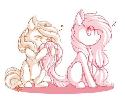 Fluffly tail by PrettyShineGP