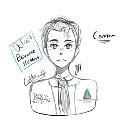 Connor- Detroit Become Human by CatArrow12