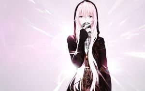 Luka Megurine wallpaper by Kackemon