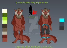 Karnus the genetically engineered Drift Wing by Crow-Faced