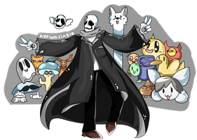 The Famous Gaster by kktwojingle