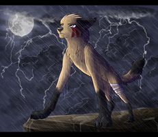 Com - Into the storm by ReneahArt