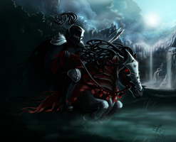 Black knight. Heroes of might and magic 3 by AliceSad