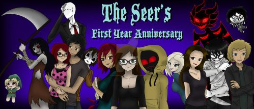 The Seer: First Year Anniversary Contest Entry by darkangel6021
