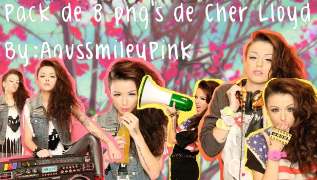 Pack Png de Cher Lloyd by AgusSmileyPink