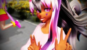 [MMD] - OG - ID Thingy by MMDTeto13
