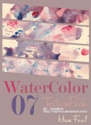 water color texture pack0707 by namrux