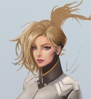 Mercy v2 - Overwatch (Work in Progress) by castcuraga