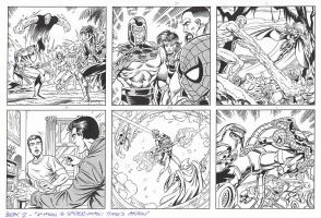 X-MEN and SPIDER-MAN: TIME'S ARROW Book 2 Grummett by DRHazlewood