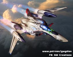 YF-29 GW custom by gwydion1982