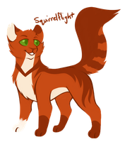 [100 WARRIOR CATS CHALLENGE] #20 - Squirrelflight by toboe5tails