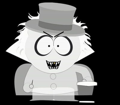 Hatbox Ghost in South Park (GIF) by Martin-from-SP