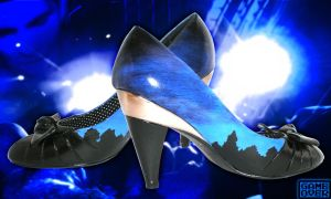 Shoes: Evening Sky Line by GAME-OVER-CUSTOM