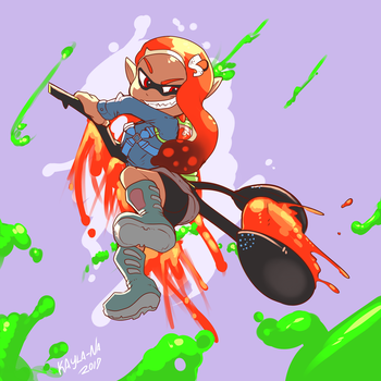 Splatoon - Inkret by Kayla-Na