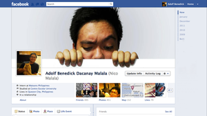 my facebook timeline cover by aeidolf