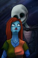 Jack and Sally by MarielleJ