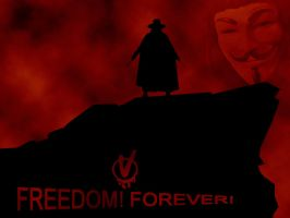 V for Vendetta Wallpaper by marinewarrior