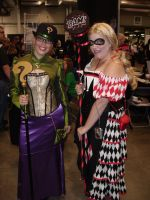 SCEE 2014 Joker and Riddler by QTZephyr