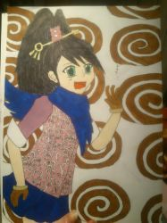 kay faraday ^^ colored by Chibiklompen