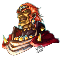 Face of a Gerudo King by FontesMakua