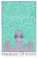 Medusa of Knots by Obsequious-Minion