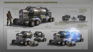 Transportable Warp Bubble Generator by AlbyU