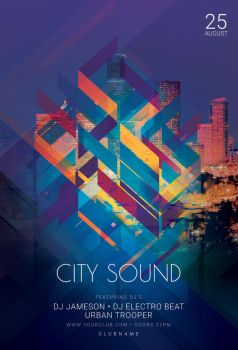 City Sound Flyer by styleWish
