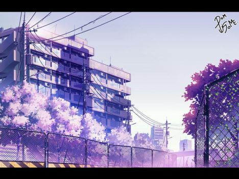 Test landscape by Pigsomedom