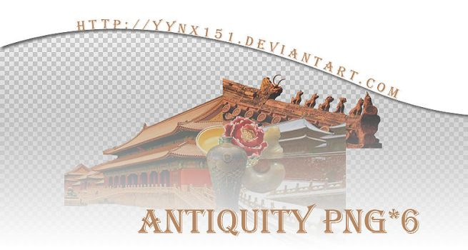 Antiquity png pack #09 by yynx151