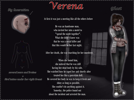 Creepypasta OC: Verena - Profile by DamianBloodlust