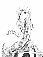 Adult Maka by VagueAlyss