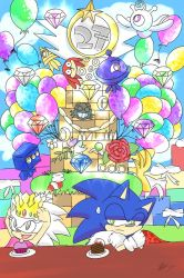 HAPPY 27th BIRTHDAY SONIC!! by sarahlouiseghost