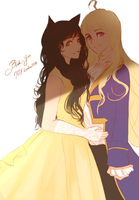 Princess and the Prince by dishwasher1910