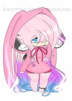 Amy Whandicy - The bunny ^-^ by AmyWhandicy