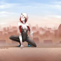 Spider-Gwen by Casylum