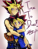 It's Time to Duel by MelodicPaper