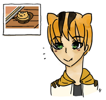 Neko Atsume: personified by united-drawer