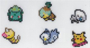 X-Stitch Christmas Pokemon