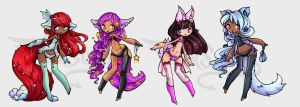 SuiAdopts 12 HAIR DECOR AUCTION CLOSED by Suiish