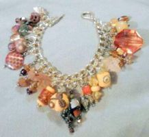 Autumn Jewels Charm Bracelet by mintdawn