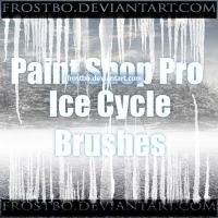 Paint Shop Pro Ice Cycle Brushes by FrostBo