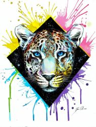 Leopard + Speedpainting Video by PixieCold