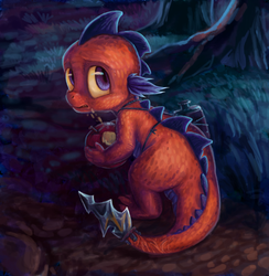 Nameless Baby Dragon by Voodoo-Tiki