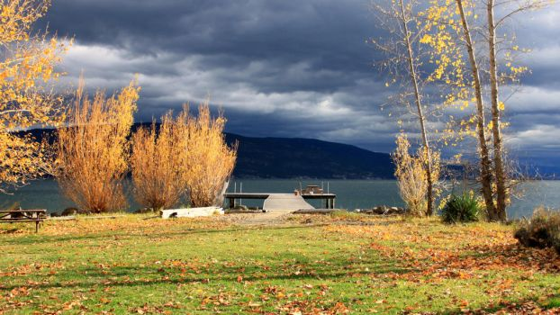 Okanagan Lake Nov. 2014 002 by Spillsin