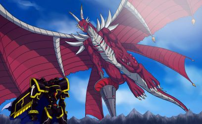 Alphamon Examon by Noki001
