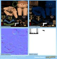 Revy - Texture Sheet by Poribo