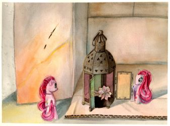 still life with pinkie pie by Koshou